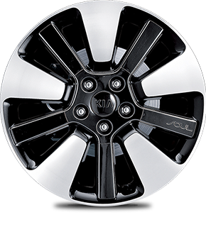 Alloy Wheel A (Black insert)